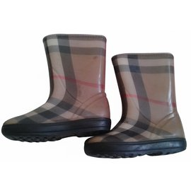 Burberry-Bottes, bottines-Multicolore