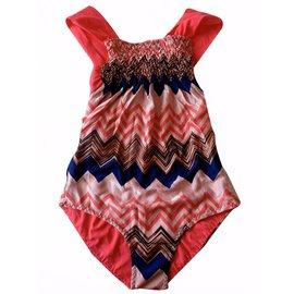 Missoni-Maillot de bain fille-Multicolore