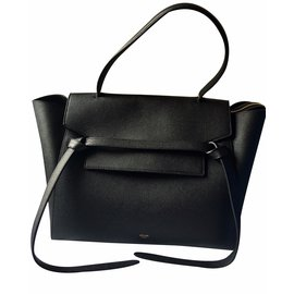 Céline-Celine small belt bag-Black