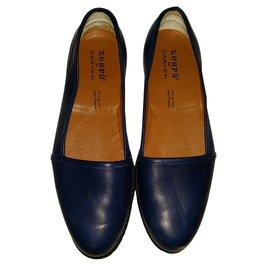 Carven-Loafers Slip ons-Blue