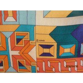 "Hermès-""fil d'ariane ""-Orange"