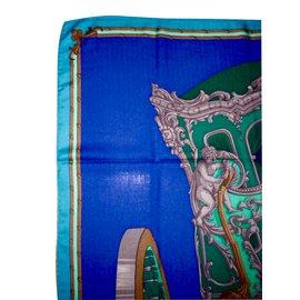 Hermès-GRAND CARROSSE pour un AMBASSADEUR-Bleu