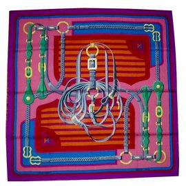 Hermès-COACHING-Multicolore