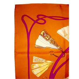 Hermès-Silk scarves-Multiple colors