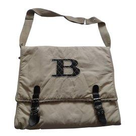 Burberry-Sacs, trousses-Beige