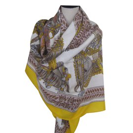 "Hermès-""danse du cheval  Marwari""-Multicolore"