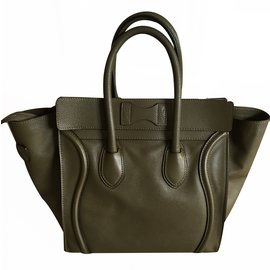 Céline-Luggage bag-Khaki
