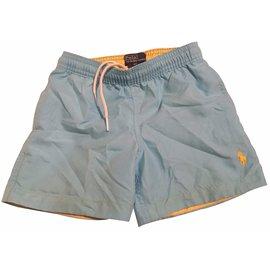 Polo Ralph Lauren-Shorts garçon-Bleu