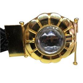 Yves Saint Laurent-Bracelet vintage-Noir
