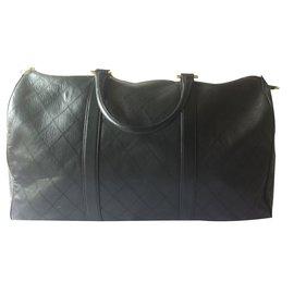 Chanel-Travel bag-Black