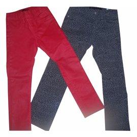 Ikks-Pantalons fille-Multicolore