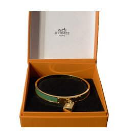 Hermès-Bracelet Kelly Hermès vintage-Golden