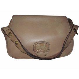 Céline-Handbag-Brown