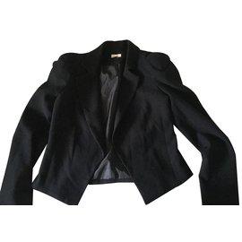Bel Air-Veste taille-Noir