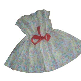 Petit Bateau-Girl Dress-Multiple colors