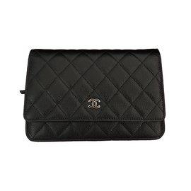 Chanel-Black WOC Caviar-Black
