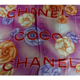 Chanel-Scarf-Multiple colors