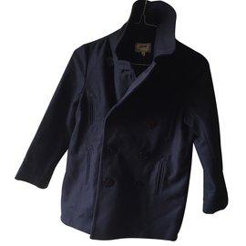 Jean Paul Gaultier-Girls Coat-Blue