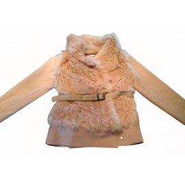 Autre Marque-Coat Miss Grant-Pink