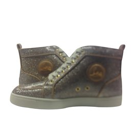 Christian Louboutin-Sneakers Rantus-Doré