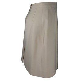 Hermès-Skirt-Beige