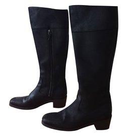 Balenciaga-Bottes-Noir