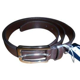 Aquascutum-Aquascutum men's belt-Brown