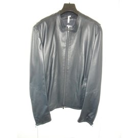 Costume National-Costume national capsule collection nwt leather jacket-Blue