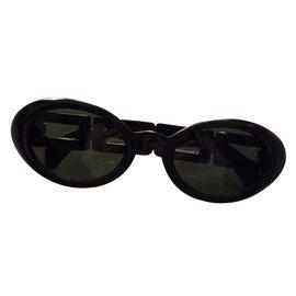 Karl Lagerfeld-Lunettes noires-Noir