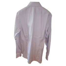 Emanuel Ungaro-Ungaro brand new  fine cotton  stretch shirt-Pink