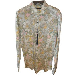 Emanuel Ungaro-flower print shirt-Multiple colors