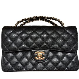 Chanel-Chanel 2.55 caviaar-Black