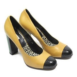 Dries Van Noten-Escarpins-Beige