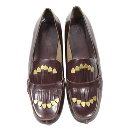 Chloé-Loafers-Brown