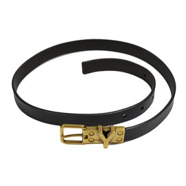 Yves Saint Laurent-Ceinture-Marron