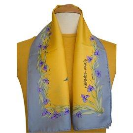 Hermès-CHEVAL FLEURI-Multicolore