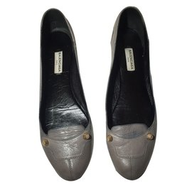 Second Joli flats Balenciaga hand Ballet Closet nwXN80POkZ