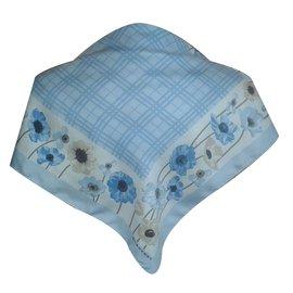 Burberry-Scarf-Blue