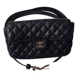 Chanel-Bag in belt-Black