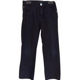 Armani-Pantalons garçon-Bleu