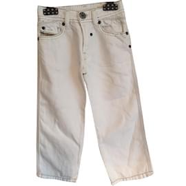 Diesel-Pants-White