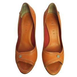 Céline-high heels-Orange