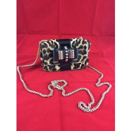 Christian Louboutin-Sweety charity  leopard-Imprimé léopard