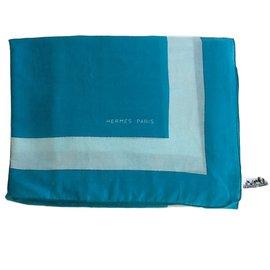 Hermès-Pareo turquoise GM-Bleu