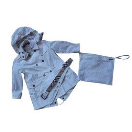 Burberry-Blousons, manteaux filles-Autre