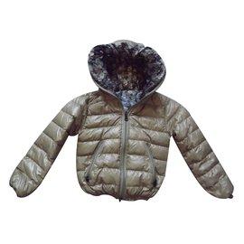 Duvetica-Blousons, manteaux filles-Multicolore