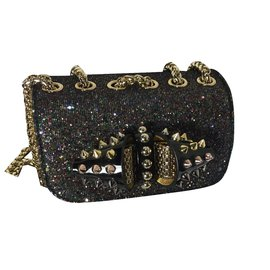 Christian Louboutin-Sweety charity bag-Noir
