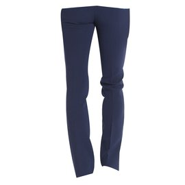 Mila Shön-Pantalons homme-Bleu