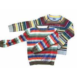 Pepe Jeans-Pulls-Multicolore