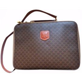 Céline-Laptop bag-Brown